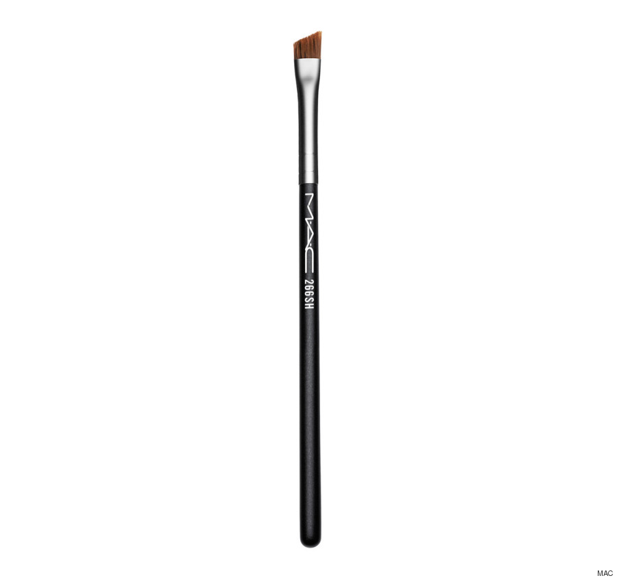 angled makeup brush