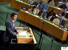 PM Unofficially Launches Canada's Bid For UN Security Council Seat