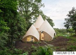 일본의 어느 산자락에는 이런 집이 숨어있다(사진)