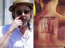 Brad Pitt et Angelina Jolie risquent de regretter ces tatouages