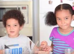 هذا ما يحدث عندما تتركين أطفالك في المطبخ