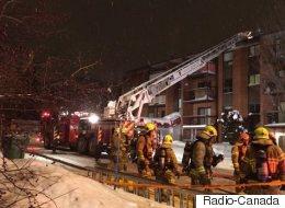 Feu à Charlesbourg : un pompier aurait ordonné de sauter du 4e étage