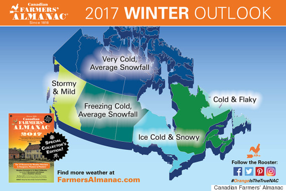 Canada Winter Forecast 2017 Is A Grim One Sorry