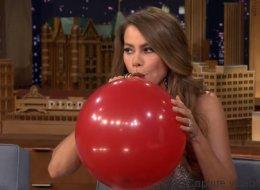 Quand Sofia Vergara prend de l'hélium, ça donne ça