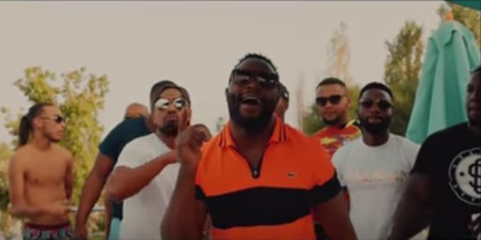 Le rappeur Gradur tourne son clip à Marrakech avec Franck Ribéry et Serge  Aurier (VIDÉO)