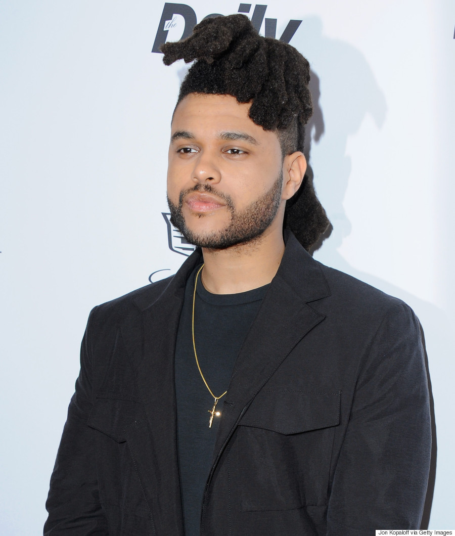 the weeknd hair