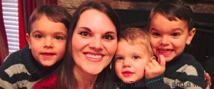 THREE BOYS AND A MOM