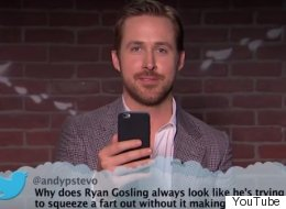 Ryan Gosling Gets The Giggles While Reading Mean Tweets