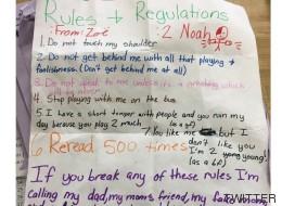 La carta viral de una niña de 11 años a un niño de su clase
