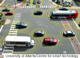 Edmonton Tests Smart Cars That Can Talk To The Road