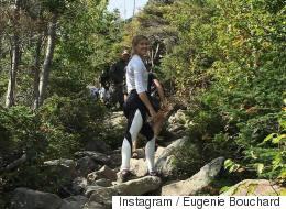 Eugenie Bouchard prend du repos (PHOTOS)