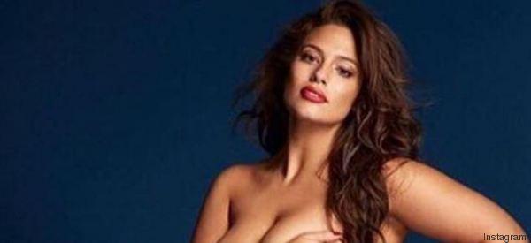 Ashley Graham posa nuda per la prima volta e omaggia Gigi Hadid