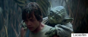 LUKE SKYWALKER YODA
