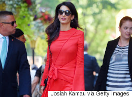 Amal Clooney Is Pretty Much All The Fall Style Inspo You Need