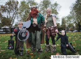 25 Families Who Just Upped The Halloween Game