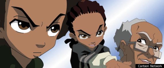 For Boondocks and adult swim