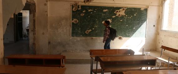 SCHOOLS SYRIA BOMBING