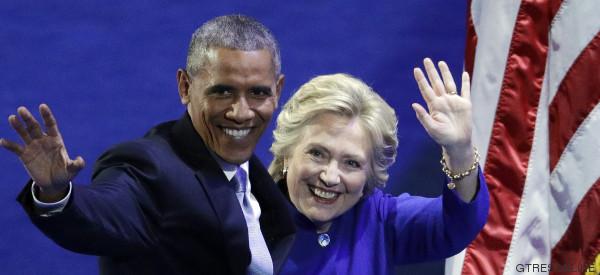 Obama usó un seudónimo para mandarse correos con Hillary Clinton, según el FBI