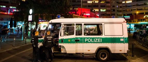 BERLIN KREUZBERG POLIZEI