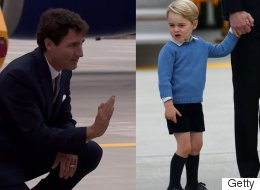 Prince George Totally Snubbed Prime Minister Justin Trudeau
