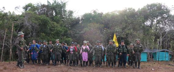 FARC GUERILLA