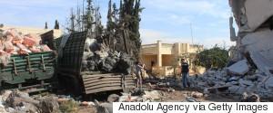 SYRIA AID ATTACK
