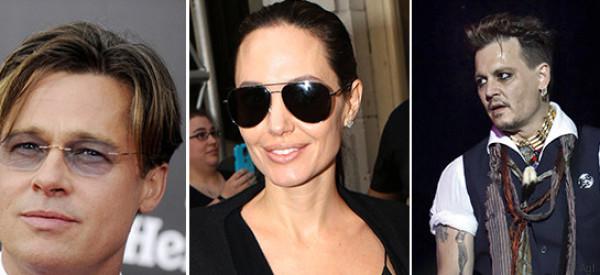 Angelina si fa consolare da Johnny Depp e blocca il numero di telefono di Brad (secondo i rumors)