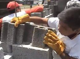 Ces blocs de béton façon Lego réduisent de 50% le temps de construction d'une maison