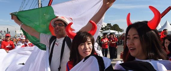 ALGERIA KOREA