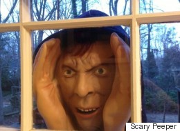Home Depot To Pull Peeping Tom Halloween Decor From Stores