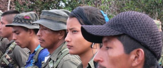 FARC GUERILLA WOMAN