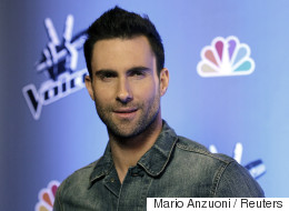 Adam Levine Is All Skin-To-Skin In First Photo With Dusty Rose