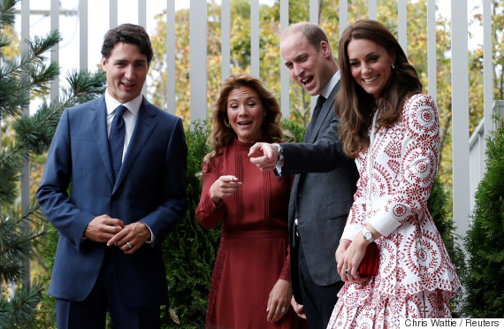 justin trudeau prince william