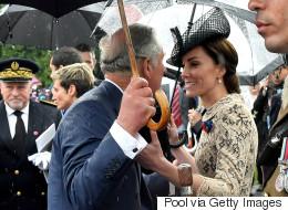 La météo défavorable force le couple princier à changer ses plans