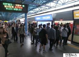 서울지하철 1∼8호선 파업 돌입했다