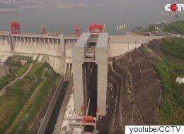 이것은 세계에서 가장 큰 엘리베이터다(동영상)