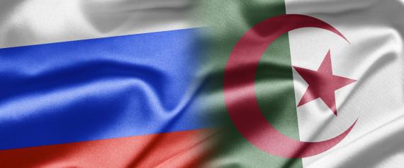 ALGERIA RUSSIA FLAGS