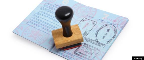 VINTAGE CELEB PASSPORTS