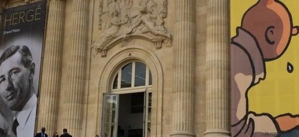 Tintin au pays de Hergé au Grand Palais
