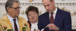 PRINCE WILLIAM BC BLACK ROD CEREMONY