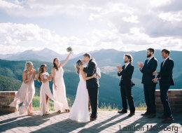 Ce couple se fiance, puis se marie... la journée même! (PHOTOS)