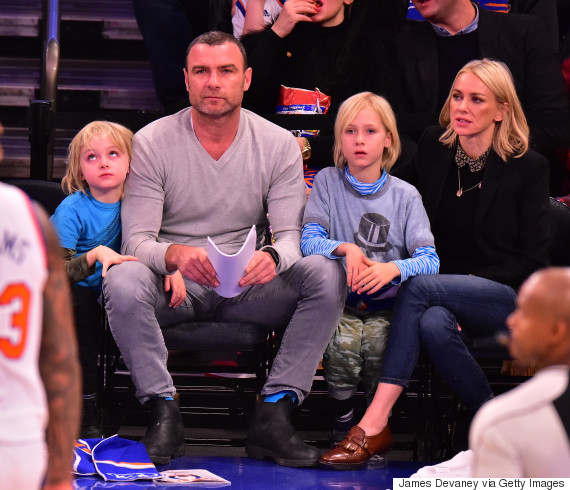 liev schreiber and naomi watts sons