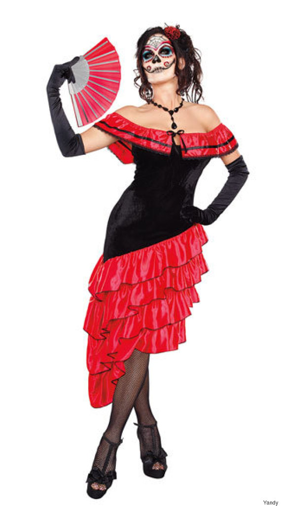 seductive spanish dancer costume