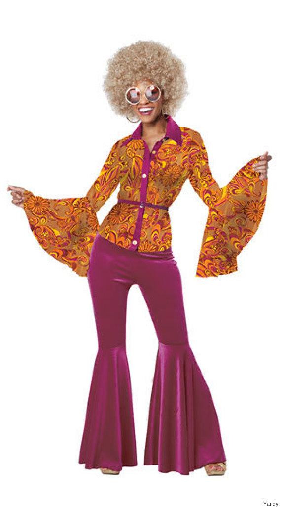funky disco diva costume
