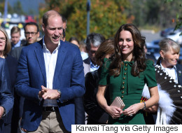 Royals Touch Down In Kelowna, B.C.
