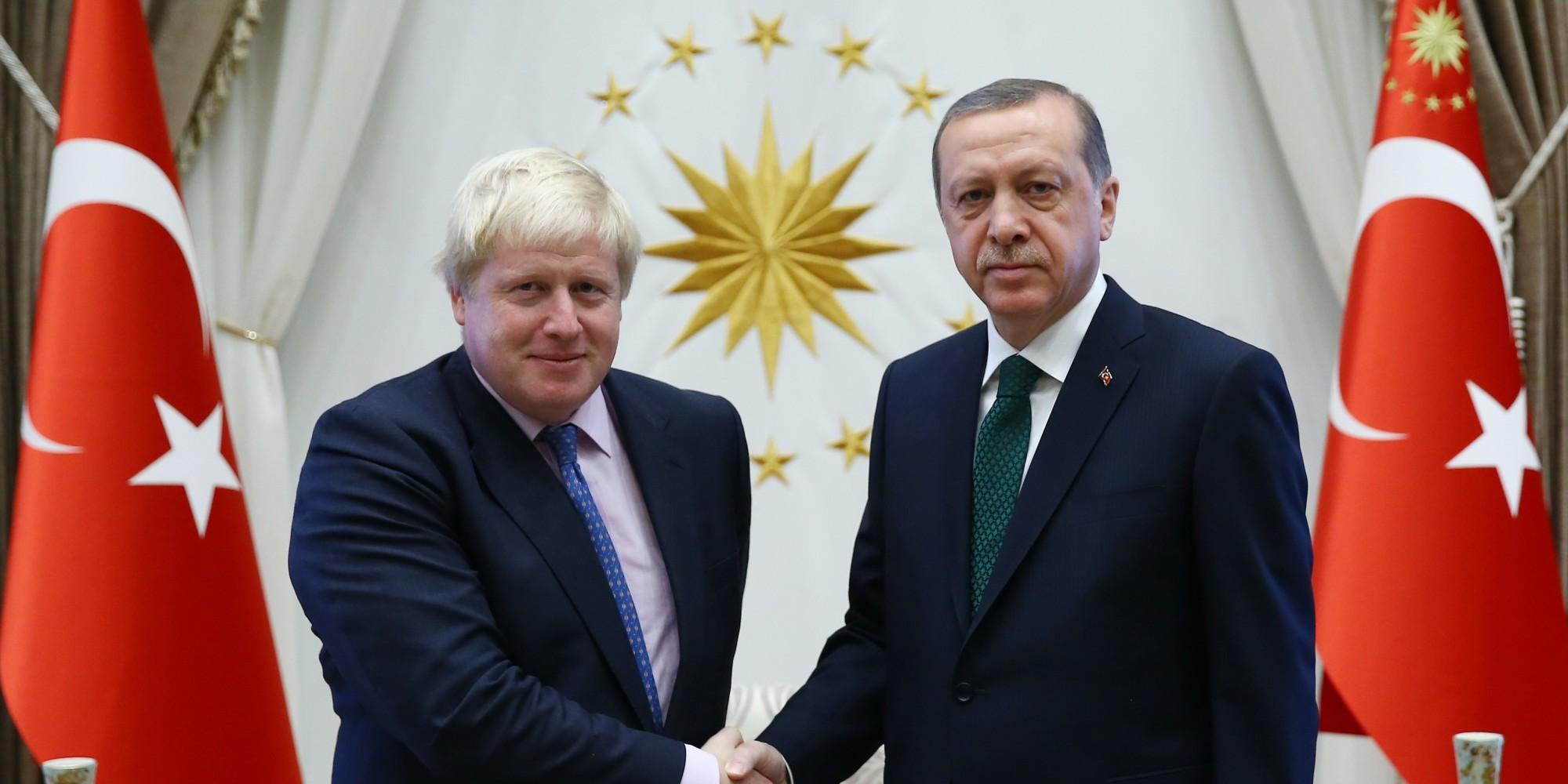 Boris Johnson Turkey