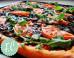 Ελαφριά και εύκολη χορτοφαγική πίτσα με σπανάκι