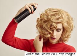 3 Lazy-Girl Style Hacks Using Hairspray