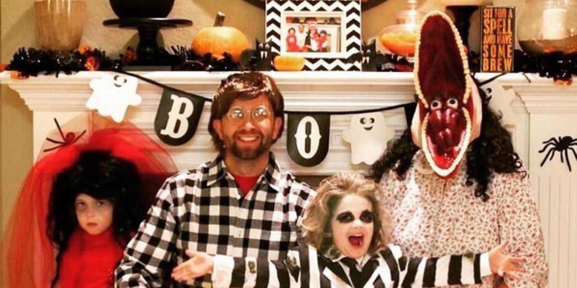 50 id es de costumes pour passer l 39 halloween en famille - Halloween en famille ...
