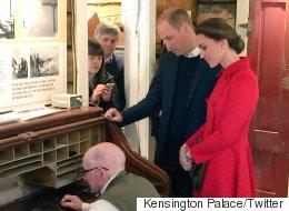 Duke & Duchess Of Cambridge Send Yukon's First Tweet Via Telegraph
